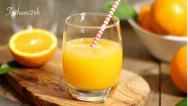 Uống nước cam buổi sáng và những lợi ích bất ngờ bạn chưa biết