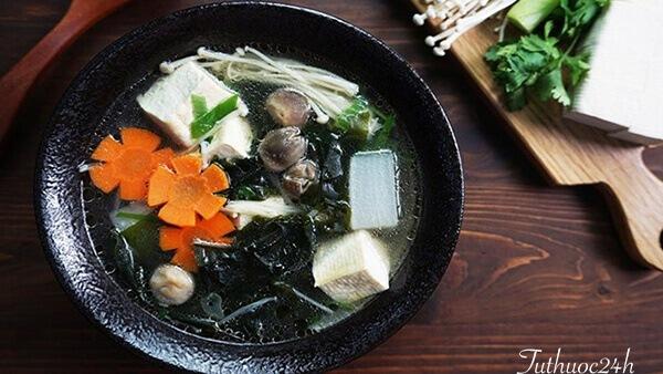 Cách nấu món canh rong biển chay dinh dưỡng, đơn giản tại nhà
