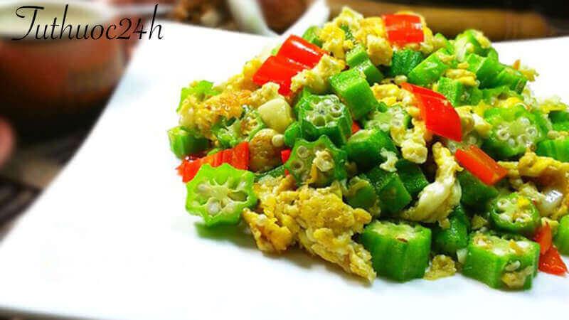 Hướng dẫn cách nấu món đậu bắp xào trứng ngon miệng tại nhà