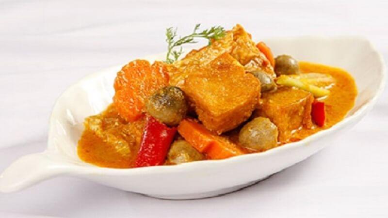 Lạc xá chay món ăn hội đủ màu sắc mùi vị và cực ngon