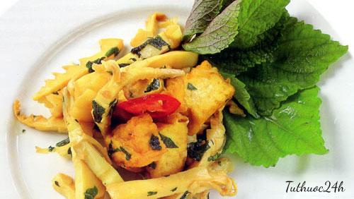 Măng kho chay cho bữa ăn thêm đa dạng chỉ với 2 bước tại nhà