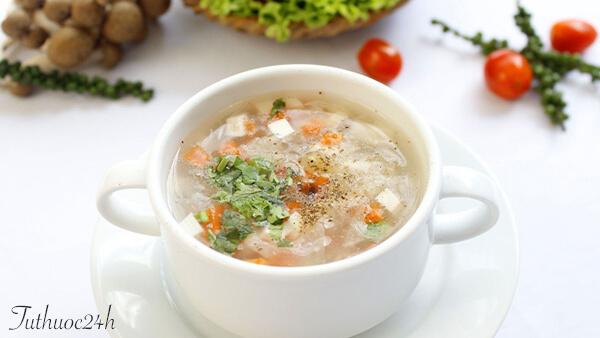Cách nấu 3 món súp chay thơm ngon bổ dưỡng mà đơn giản