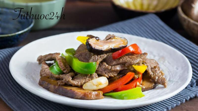 Hướng dẫn cách nấu món thịt bò xào nấm thơm ngon đúng điệu chiêu đãi cả nhà