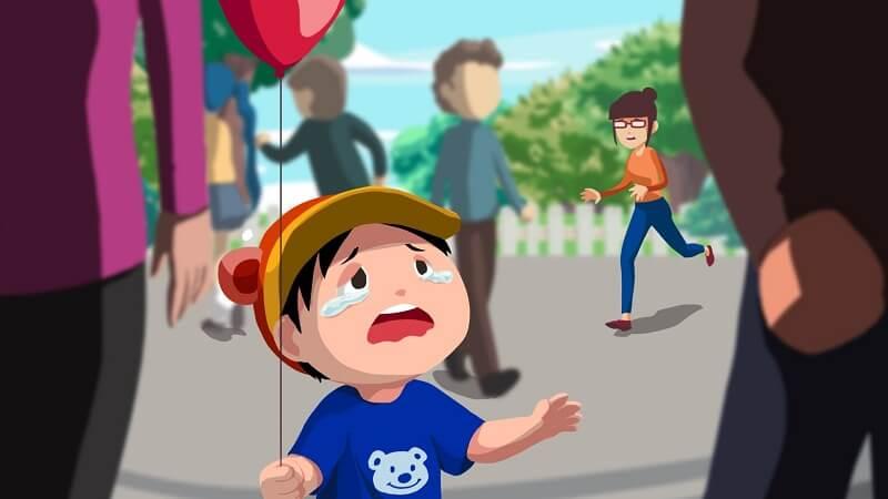 Dạy bé kỹ năng phòng thân hiệu quả khi lạc đường