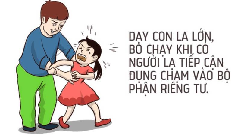 Mách bố mẹ cách dạy trẻ chống lại xâm hại tình dục