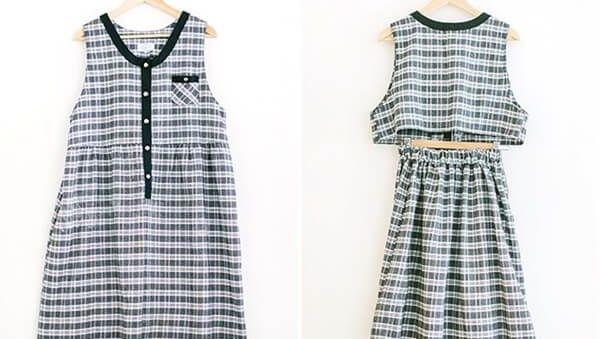Vài bước đơn giản biến vãy cũ thành áo mới