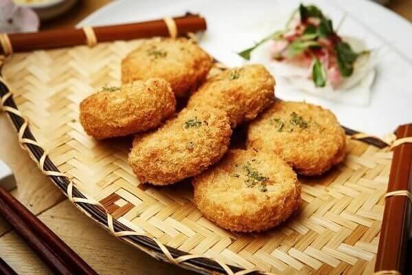 khoai tây chiên thành phẩm