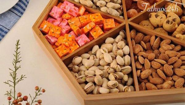 Các loại hạt ăn Tết và những tác dụng có ích đối với sức khoẻ
