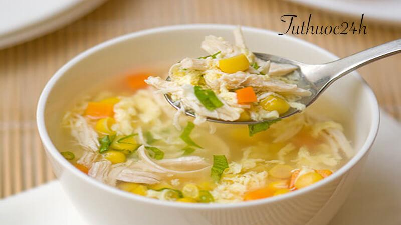 Cách nấu súp gà ngô non đơn giản nhưng cực kỳ ngon