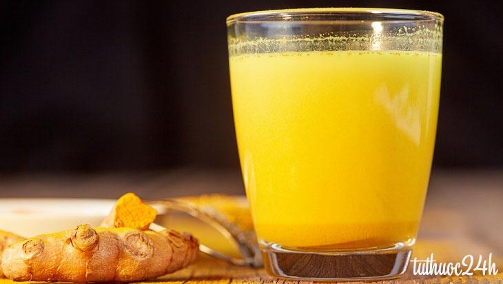Uống tinh bột nghệ đúng cách hiệu quả cho mọi nhà