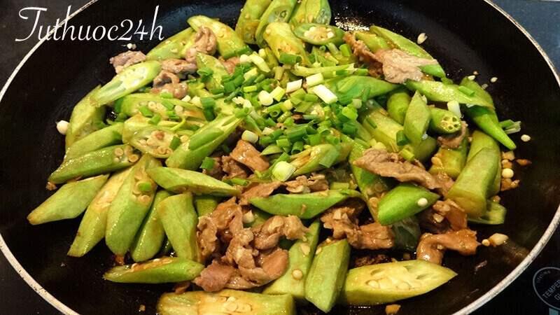 Cách làm món đậu bắp xào thịt bò thơm ngon bổ dưỡng chuẩn homemade