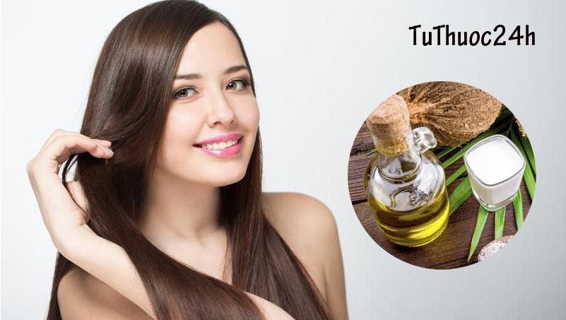Cách dùng dầu dừa đúng cách để sở hữu mái tóc dài, dày, suôn mượt