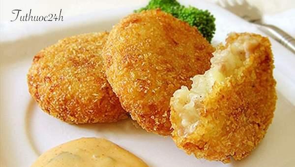 2 công thức biến tấu với khoai tây chiên xù đơn giản đảm bảo ngon giòn