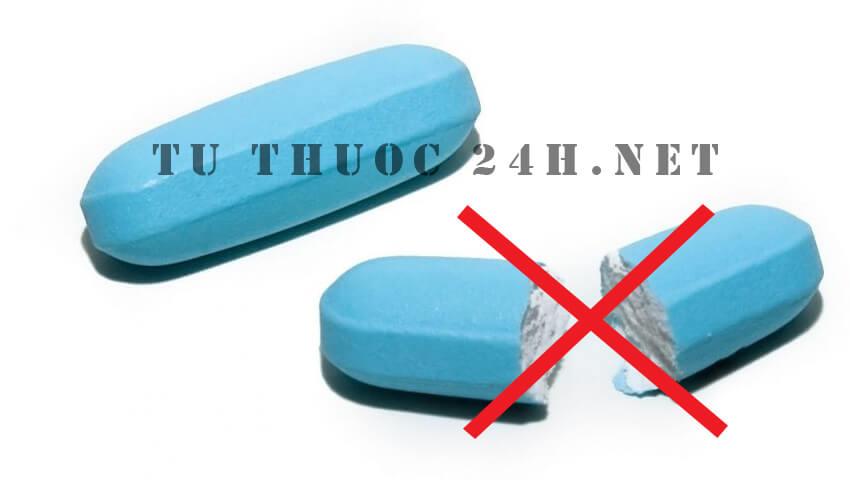 Không bẻ, nhai, nghiền các loại thuốc sau theo khuyến cáo của Khoa Dược - bệnh viện Bạch Mai