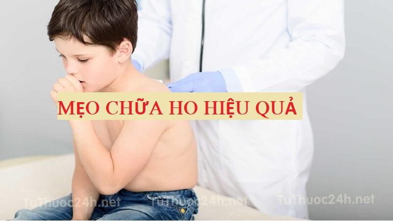 Mẹo chữa ho cho trẻ được chuyên gia y tế Mỹ khuyên dùng
