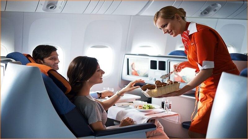 Mẹo hay giúp hạn chế tình trạng say máy bay