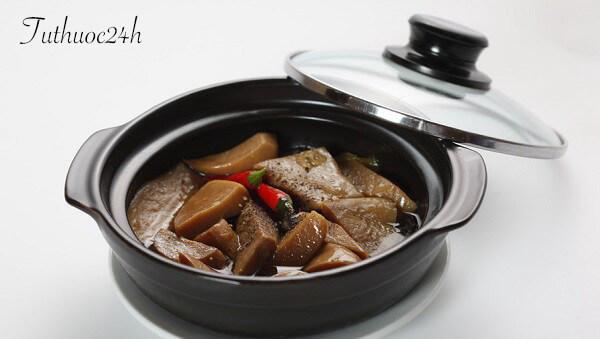 Cách làm món nấm đùi gà kho tiêu vô cùng đưa cơm trong những bữa chay