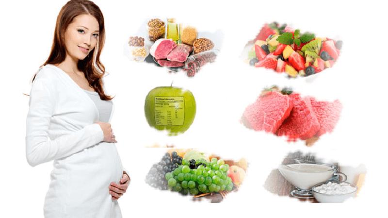 7 cách ăn uống vào con không vào mẹ dành cho bà bầu