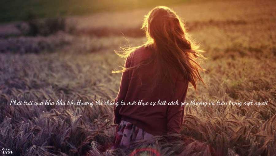 Phải chịu tổn thương, chúng ta mới biết cách yêu thương một người