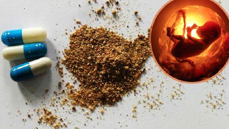 Thuốc chứa thành phần thịt người sản xuất tại Trung Quốc