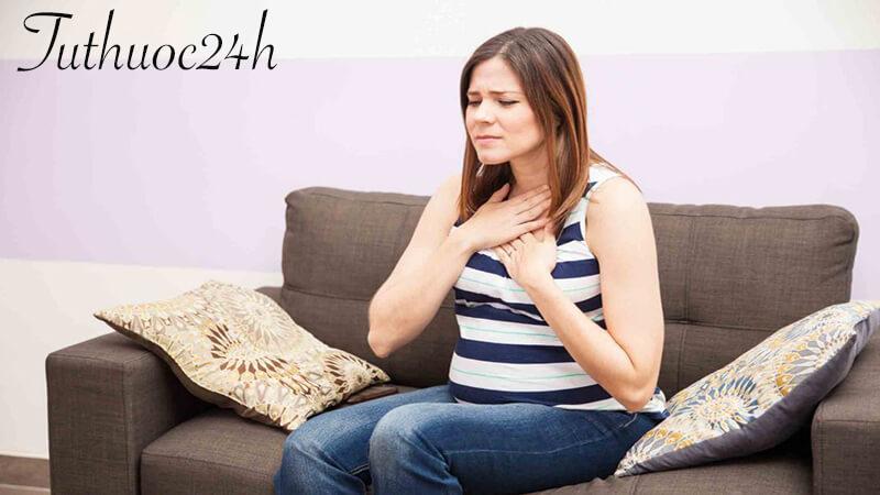 Trào ngược dạ dày khi mang thai và những điều bà bầu nên biết