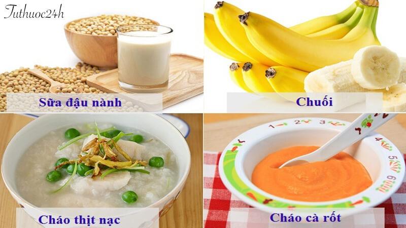 Trẻ bị đi ngoài nên ăn gì để tốt nhất cho đường ruột