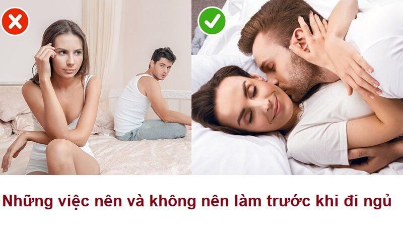 Vợ chồng hãy đọc 6 điều nên và không nên làm trước khi ngủ để giữ gìn hạnh phúc
